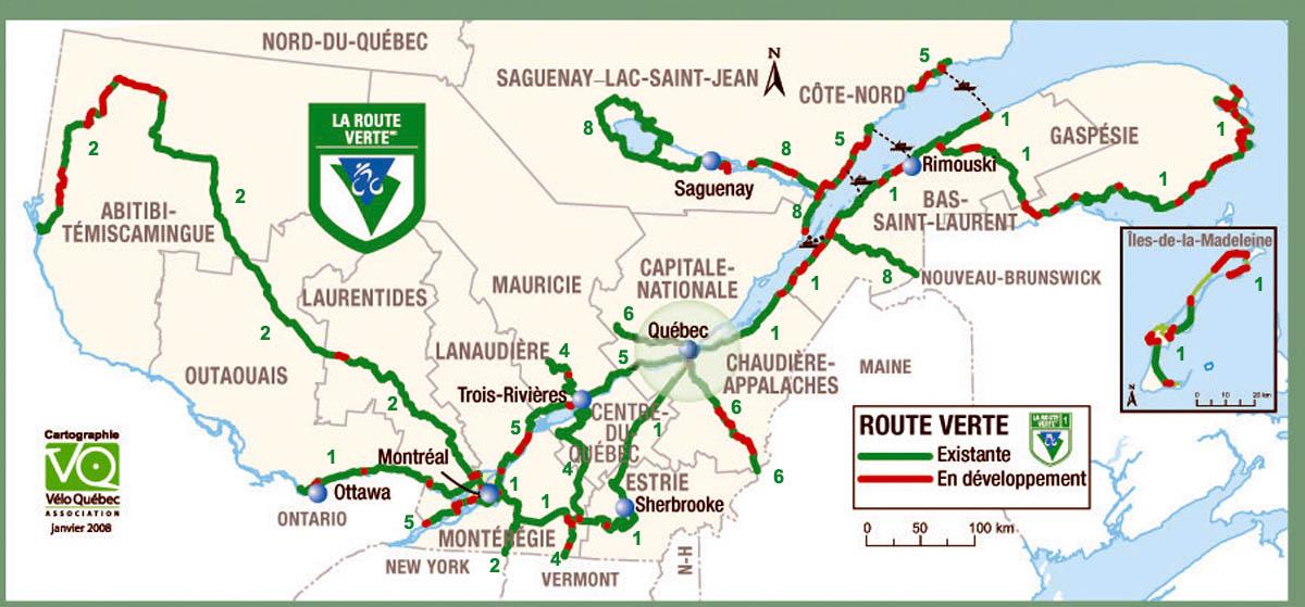 Le Quebec à velo!